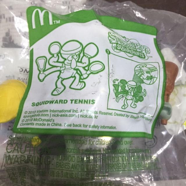 麥當勞海綿寶寶系列—章魚哥