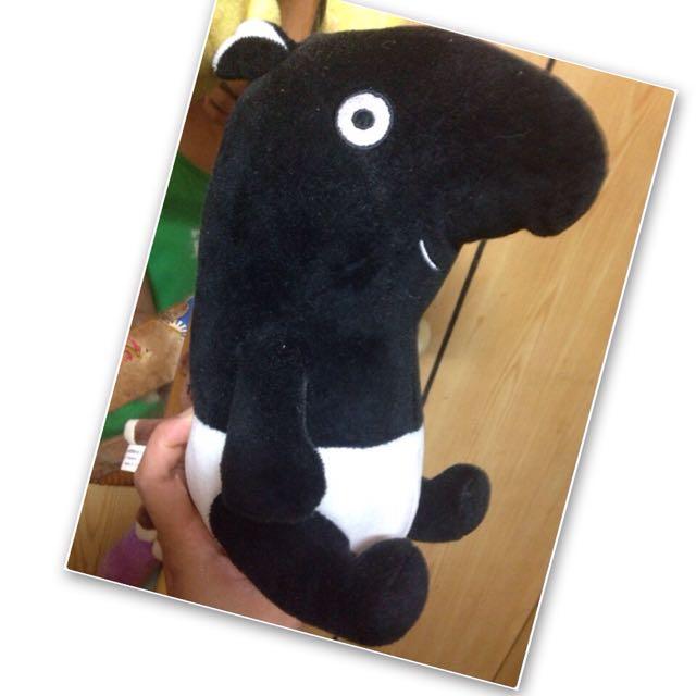 馬來貘 玩偶 20公分