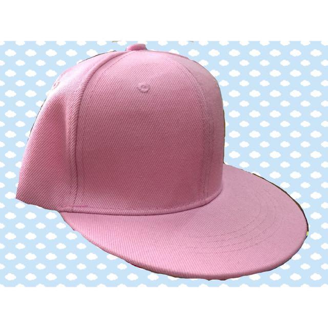 (全新)馬卡龍 粉色 棒球帽