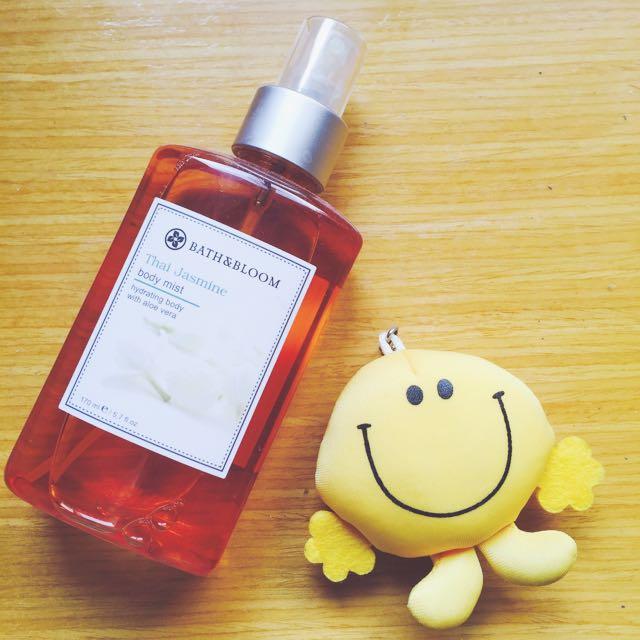 炎炎夏日Bath & Bloom泰國茉莉美體淡香水