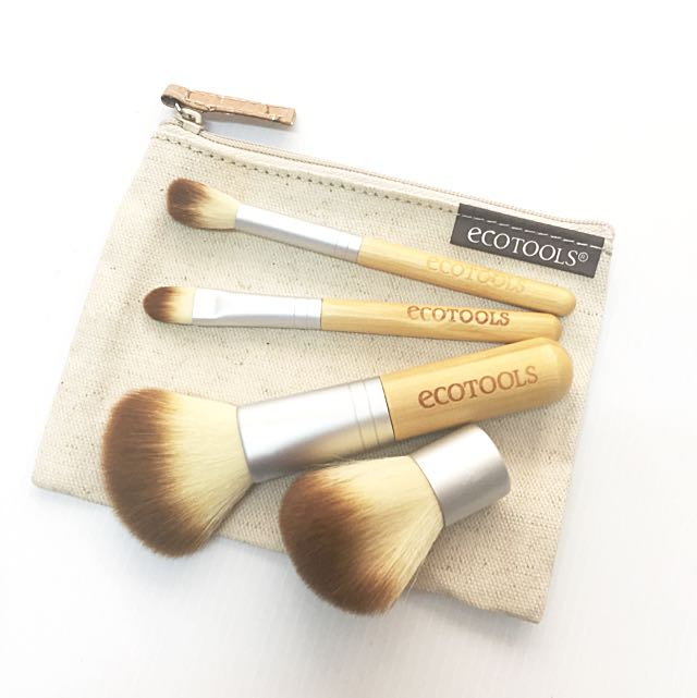 (RESERVED) BN ecotools Bamboo 5pc Brush Set