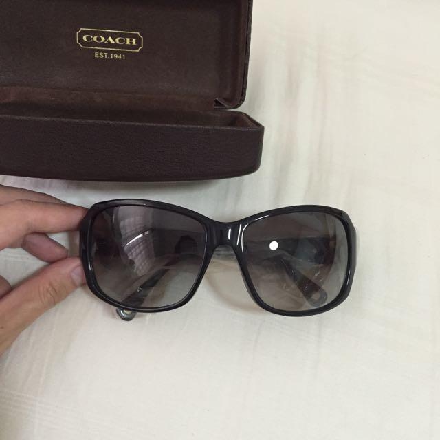 85f740bae6fc ... cheapest coach nina s494 black sunglasses luxury on carousell 6a2c4  19838
