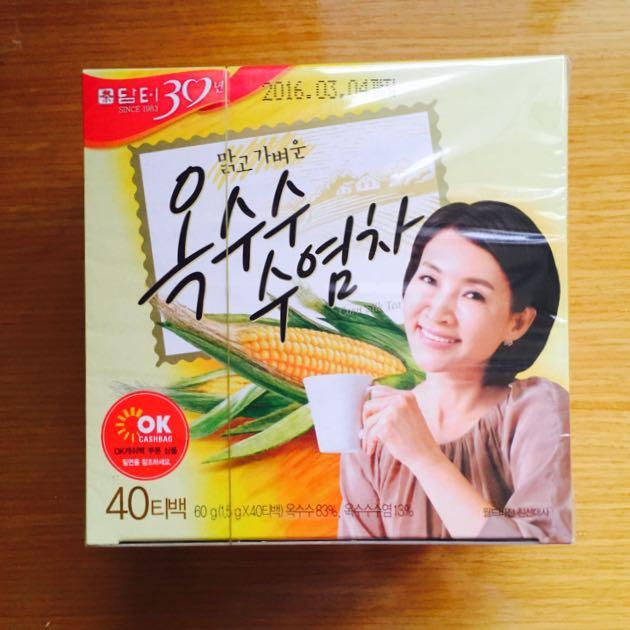 (暫售)DAMTUH韓國頂級玉米鬚茶包【100%韓國原裝進口】