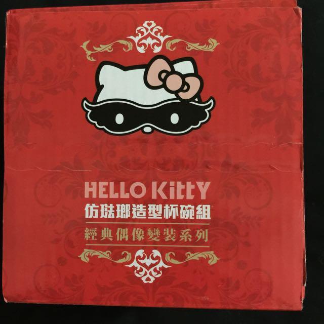 Hello kitty瓷碗(未拆封)