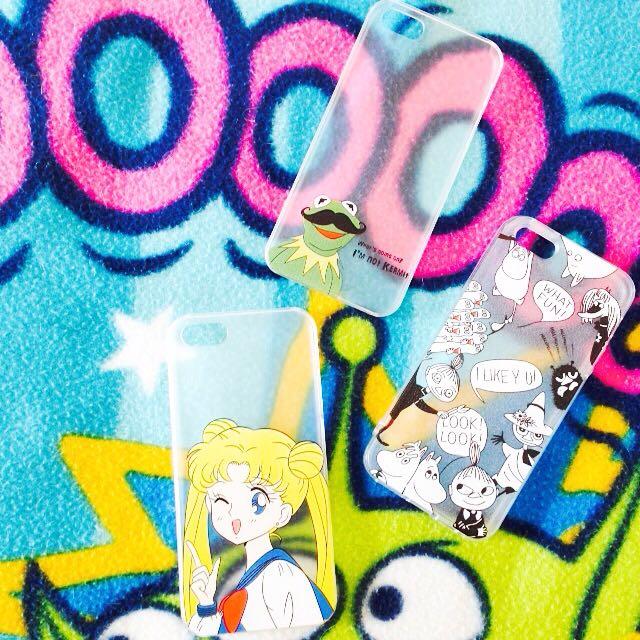 Iphone5/5s/6手機殼(嚕嚕咪/美少女戰士/科米蛙)