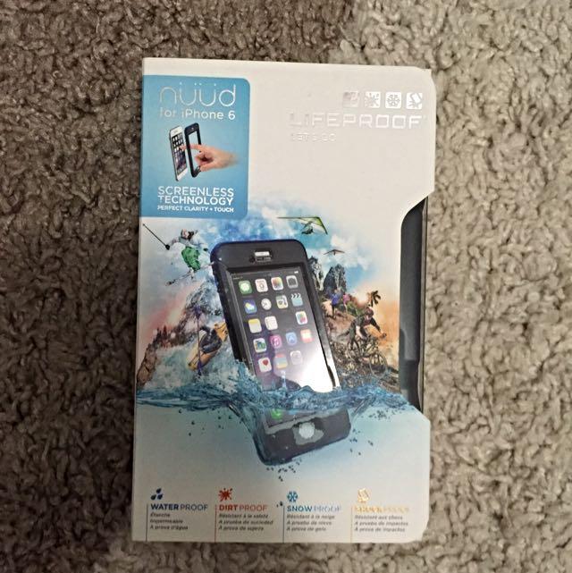求現!iPhone 6 4.7吋 Liferoof 防水殼 二手 請詳看圖片及介紹