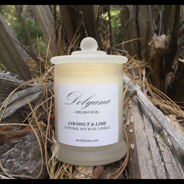 Dolyana Soy Candle - Coconut & Lime