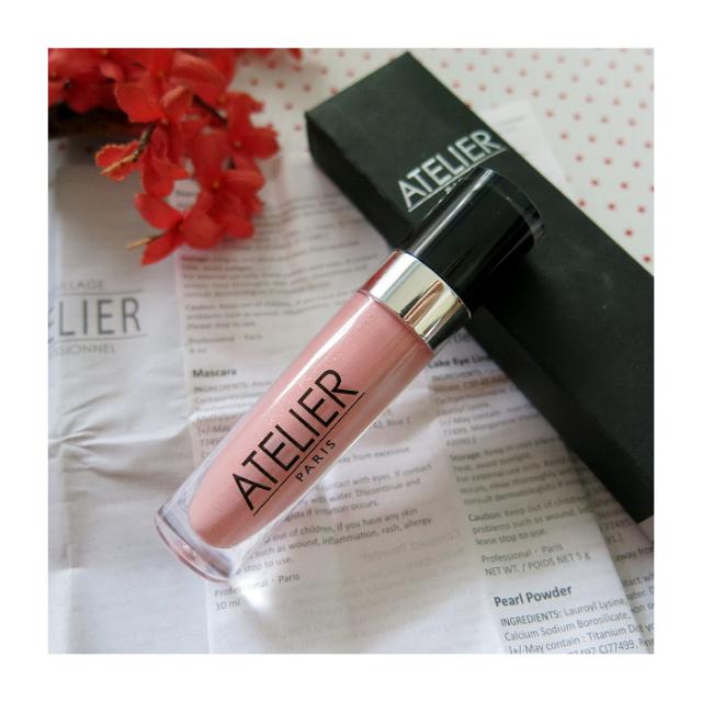 非常出色的專業100%法國品牌 Make-up Atelier Paris 釉光水潤蜜唇采8ML