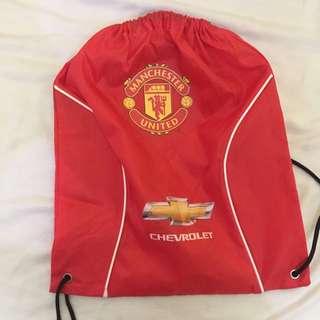 Manchester United Draw string bag