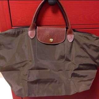Longchamp手提包 法國帶回 枯葉綠 無磨損 可議價