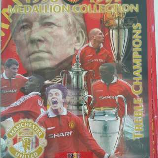 Man United 1998-99 Official Medallion Collection