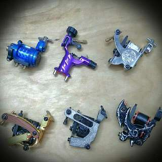 Tattoo Machine, Ink, Needle And Equipment (Brand New, Unused, High Quality From UK & US, Full Set Available)