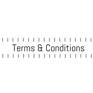 Please Read: Terms & Conditions