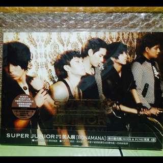 🚚 Super Junior Bonamana四輯A版