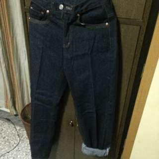 二手/ 直筒牛仔褲