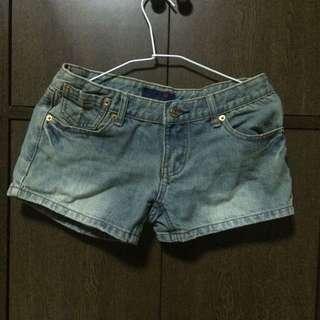 二手/ 低腰短褲