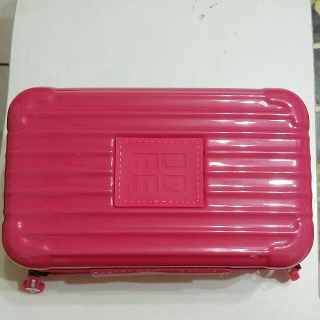 迷你行李箱化妝盒可當手拿包