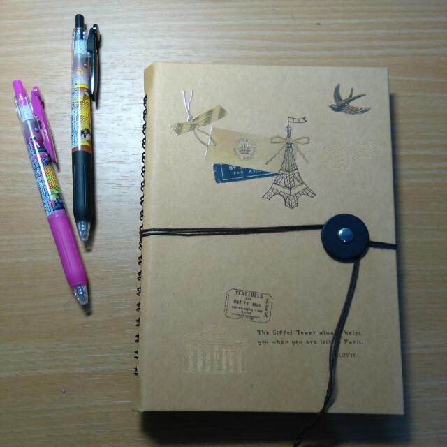 旅遊空白手帳本
