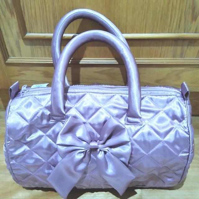 曼谷包-粉紫色