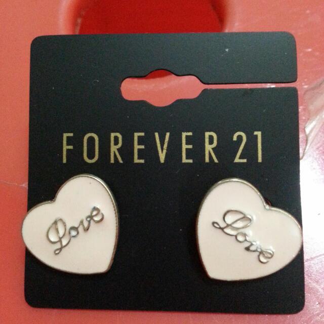 Forever  21 針式耳環