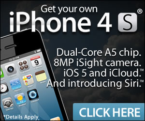 Get Your IPHONE 4S