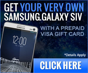 Get Your SAMSUNG S4