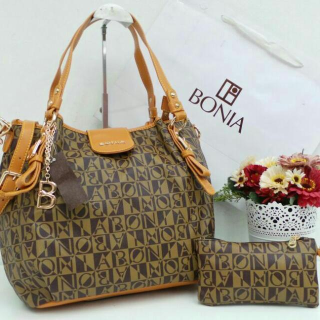 Handbag Alz Bonia Gred Aaa 2in1 Rm140 Rm150ss Women S Fashion On