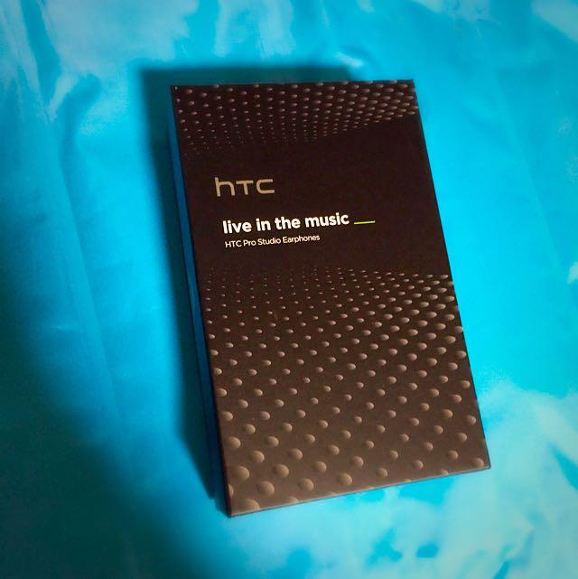 HTC高傳真雙驅動環繞音效耳機(全新未拆封)