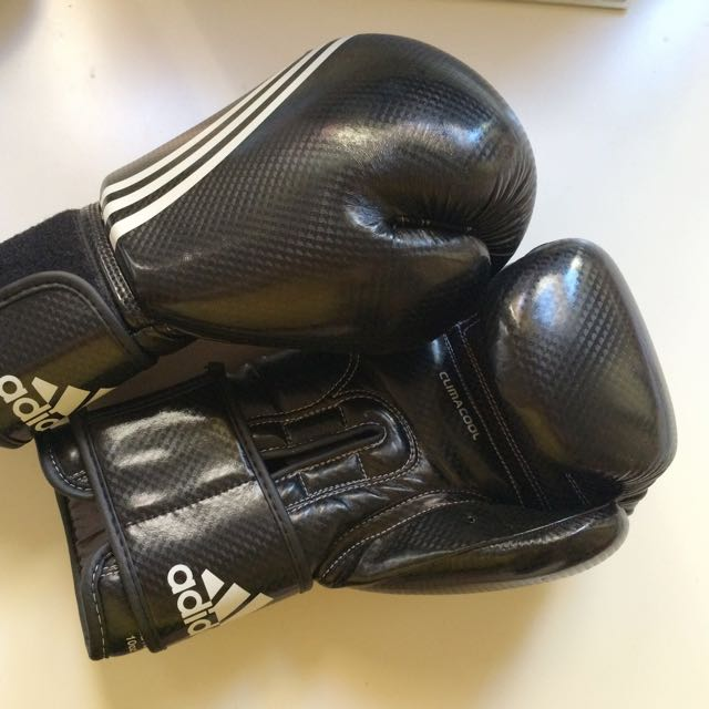 MINT - Adidas Shadow Boxing Gloves Climacool, Men's Fashion ...