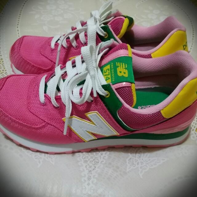 (待匯款)NEW Balance  粉紅色 女鞋
