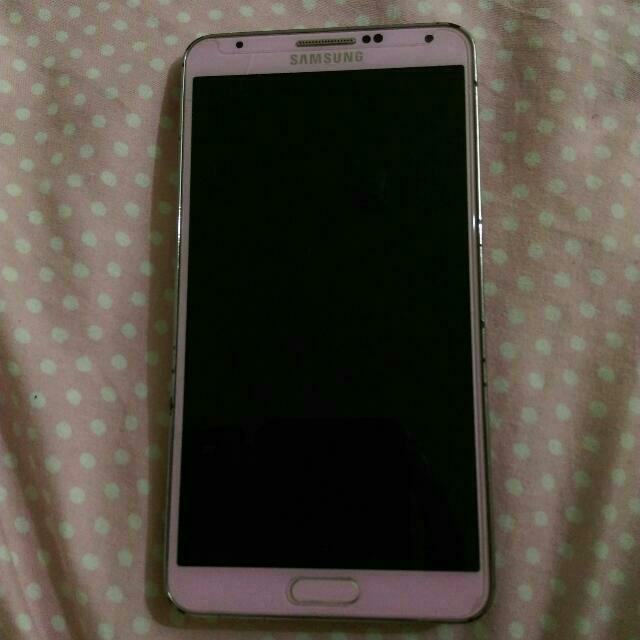 急售!Note3 3G版16g 粉色 邊框有磨損📱