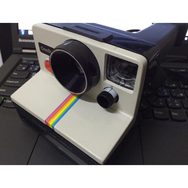 polaroid 經典彩虹機 拍立得 ONE SETP(保留中)
