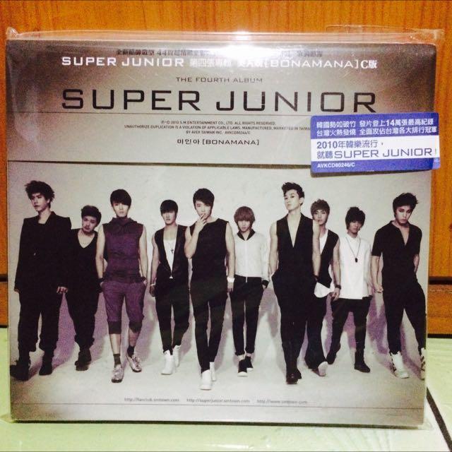 Super Junior 四輯Bonamana C版CD