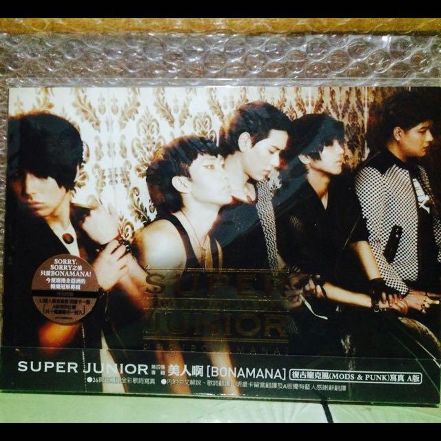 Super Junior Bonamana四輯A版