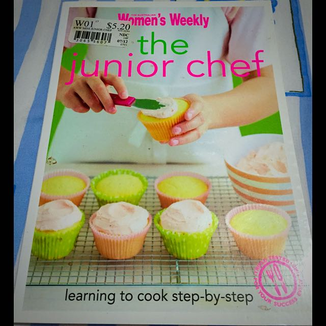 The Junior Chef Cookbook 👼🏼