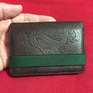 Authentic Agnis B Card Holder/ Wallet