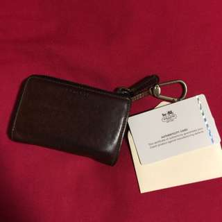Authentic Coach Card Holder/ Wallet