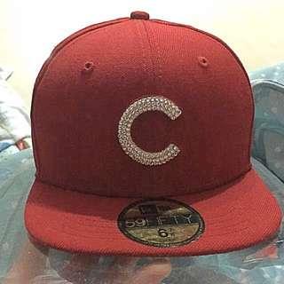 棒球帽 貼鑽