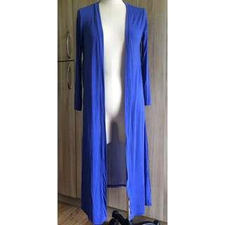 🚚 ②⑦藍色雪紡棉罩衫