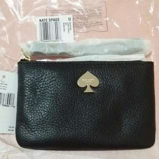 Authentic Brand New Katespade Leroy Bee Wristlet In Black Or Pink