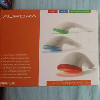 Sirius Aurora LED Light Therapy System
