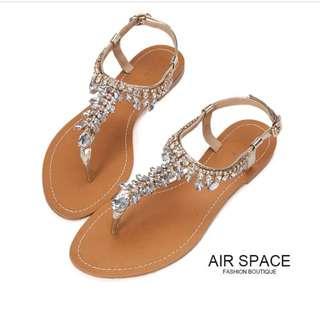 Air Space涼鞋鑽