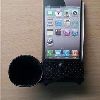 iPhone 4 4s 免插電喇叭擴音器