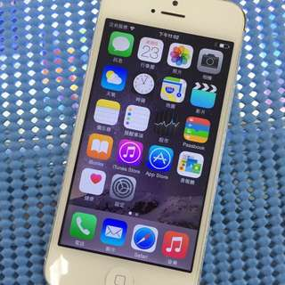 Apple IPhone5 16G 銀白色
