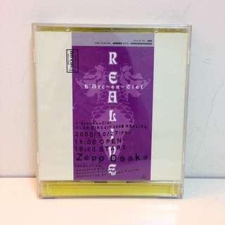 L'Arc~en~Ciel彩虹樂團2000年RELIVE演唱會LIVE DVD