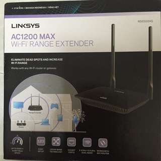 Linksys Wireless Extender AC1200 MAX