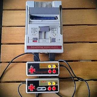 Retro Video Game Famicom Replica