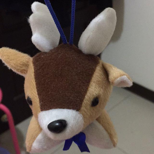 小鹿娃娃吊飾