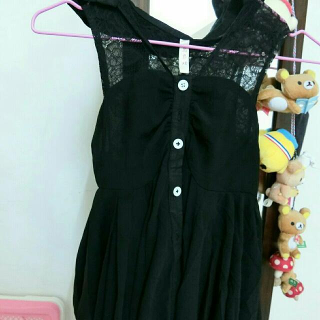 傘狀小洋裝