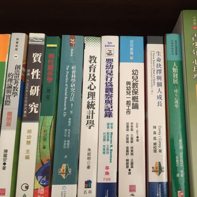 家庭研究與兒童發展學系相關用書📚